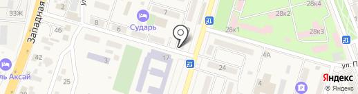 Visus на карте Аксая