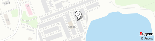Автодоктор на карте Северодвинска
