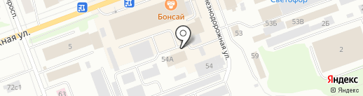 Грузчиков-Сервис на карте Северодвинска