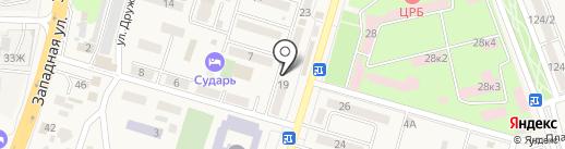 Райстройзаказчик, МБУ на карте Аксая