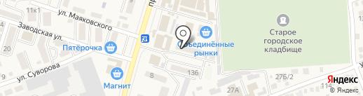 Новое на карте Аксая