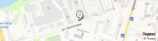 НавиЦентр на карте Аксая