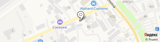 Альфа на карте Аксая