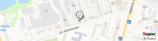 Банкомат, Юго-Западный банк Сбербанка России на карте Аксая
