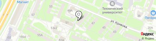 Ателье на карте Ярославля