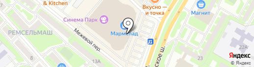 MONSOON & Accessorize на карте Вологды