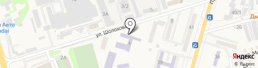 Профессиональное училище №56 на карте Аксая