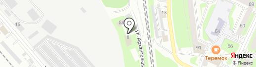 СеверТрейд на карте Вологды