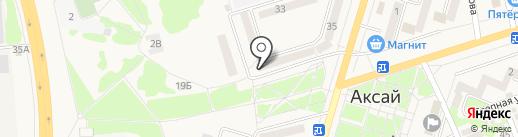 Пражский дворик на карте Аксая