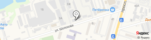 Тессарион на карте Аксая