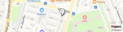 Ювелирный салон на карте Аксая