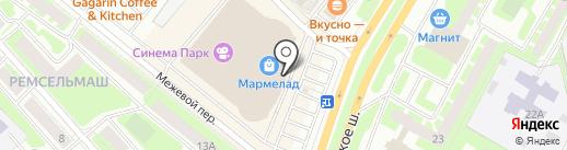 Леготека на карте Вологды