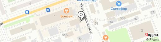 МЯСО на карте Северодвинска
