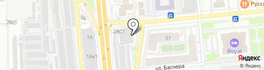 Авто-К на карте Ярославля