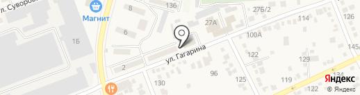 Отдел Военного комиссариата Ростовской области по Аксайскому району на карте Аксая