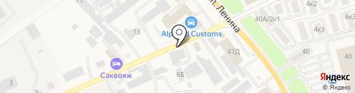 Акита Пауэр Продактс на карте Аксая