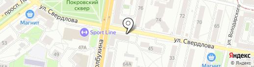 Cherry на карте Ярославля