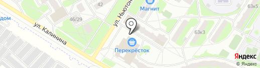 Япончик на карте Ярославля