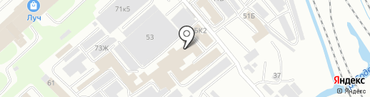 АКМ-Сервис на карте Вологды