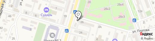 Виктория на карте Аксая