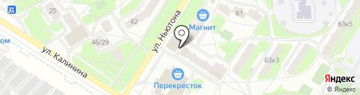 Банкомат, Сбербанк, ПАО на карте Ярославля