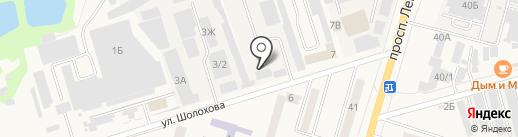 Аксайская ПМК Ростовсельхозводстрой на карте Аксая