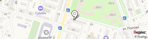 Макс-М, ЗАО на карте Аксая