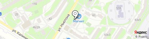 Золотце на карте Ярославля