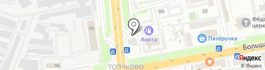 Red box на карте Ярославля