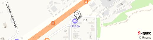 Гостиничный комплекс на карте Ленины