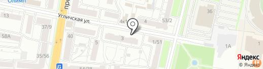 Северный дом на карте Ярославля