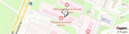 Родильный дом на карте Вологды