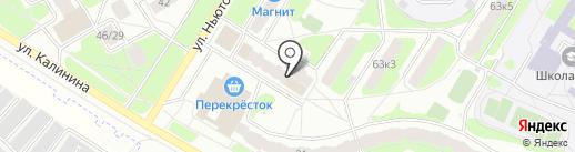 Сто Пудов на карте Ярославля