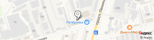 Ростовводстрой на карте Аксая