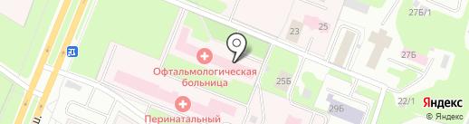 Главное бюро медико-социальной экспертизы по Вологодской области на карте Вологды