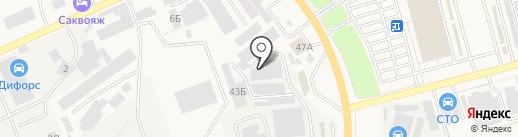 Автоломбард Аксай на карте Аксая