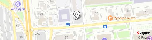 ЗАЧЕТный на карте Ярославля