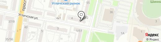 Эксперт Авто на карте Ярославля