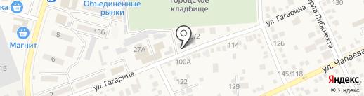 BestiЯ на карте Аксая