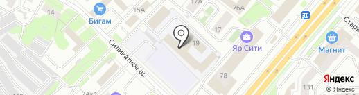 Рентек на карте Ярославля