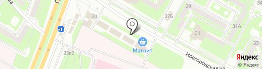 Ивановский текстиль на карте Вологды