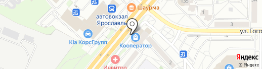Слетать.ru на карте Ярославля
