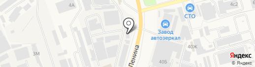 Московский Опытный Завод Буровой Техники на карте Аксая