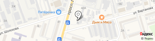 Гавриш-Дон на карте Аксая