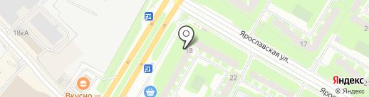 Сеть магазинов радиодеталей и бытовой техники на карте Вологды