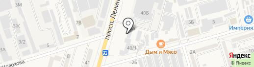ТБМ Маркет на карте Аксая