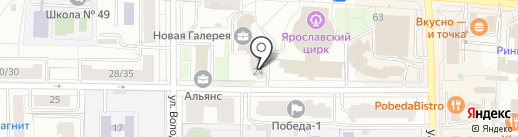 Академия Успеха на карте Ярославля