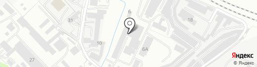 АльпСтрой на карте Вологды
