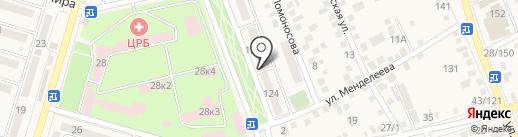 Отдел №32 Управления Федерального казначейства по Ростовской области на карте Аксая