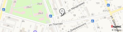 Лукошко на карте Аксая